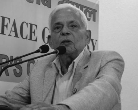 Former DPM Bharat Mohan Adhikari passes away
