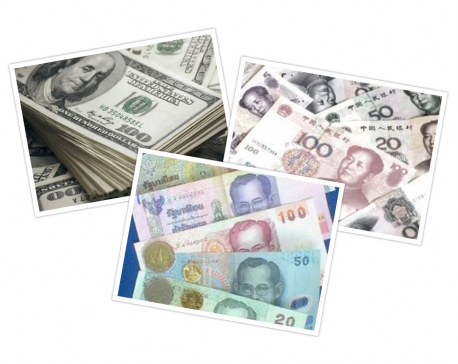 Five members of a family arrested with huge amount of foreign currencies