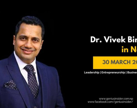 Bounce Back with Dr Vivek Bindra in Nepal