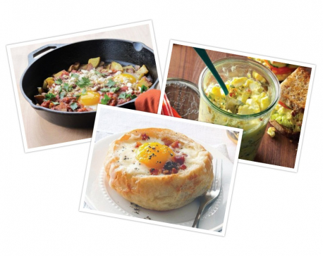 Simple and easy egg recipes