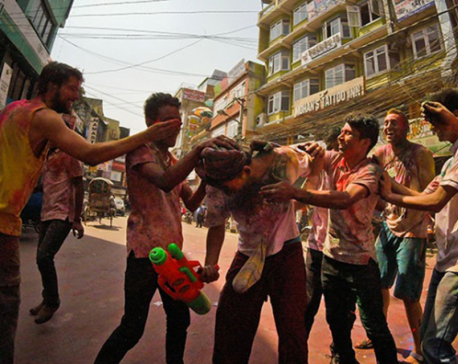 Holi being celebrated in Terai with vigor