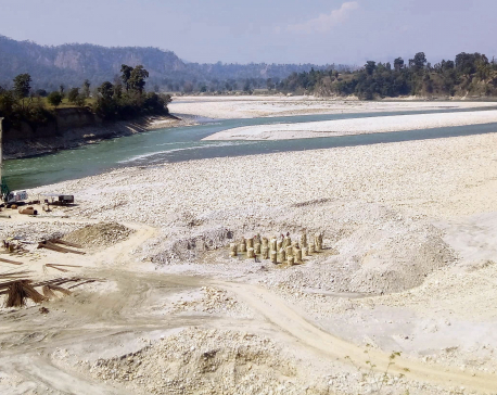 Under-construction bridge to shorten India-Karnali Province distance