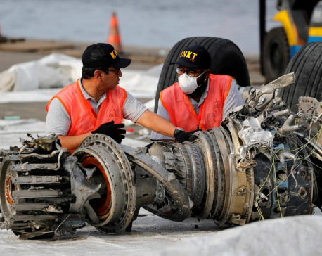 Cockpit voice recorder of doomed Lion Air jet depicts pilots' frantic search for fix