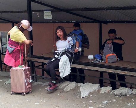 Tourist arrivals via Rasuwagadhi on the rise