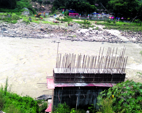 Govt building Bailey bridge to help Pappu Construction build a concrete bridge!