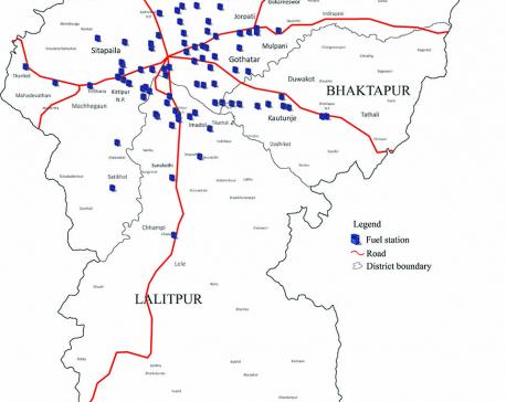 Urban sprawl turns 172 petrol pumps in Kathmandu Valley into safety hazards