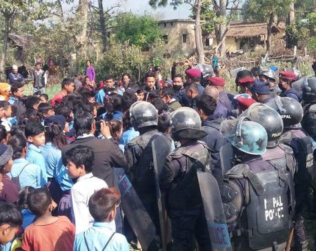 CPN's leader injured in police raid
