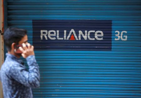 Indian telecom Reliance pays $67.42 million to Sweden's Ericsson