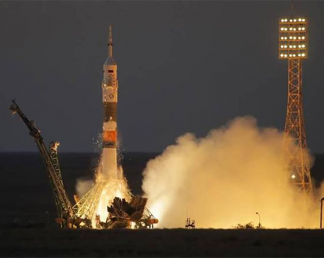 3 astronauts on Soyuz craft successfully reach International Space Station
