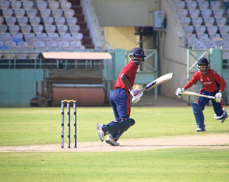 Airee, Paudel help Nepal edge past Andhra Pradesh