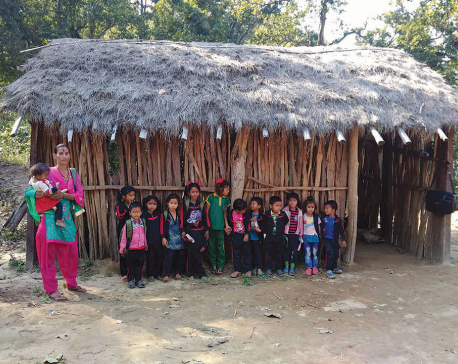 School for Majhi children grappling with resource crunch