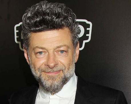 Hollywood actor Andy Serkis in Nepal