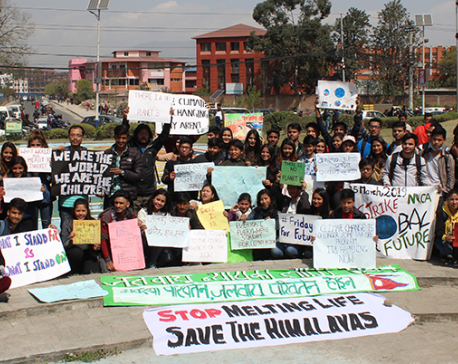 Greta Thunberg's strike for climate action reaches Nepal