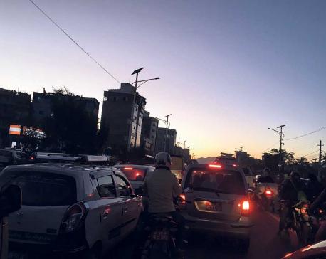 'Traffic congestion cost Kathmandu Rs 16.5 billion in 2018'