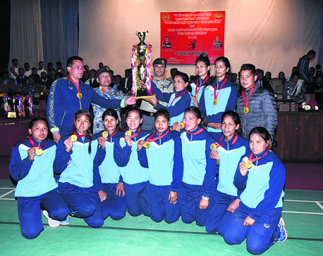 APF lifts national women's volleyball title