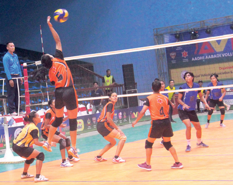 Continuation of volleyball as national game in doubt