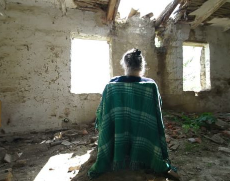 That woman (in an old house)