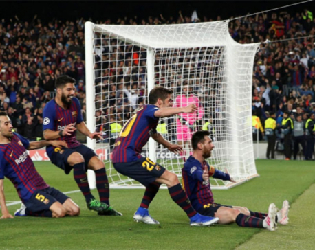 Messi torments Liverpool with 600th Barca goal in 3-0 win
