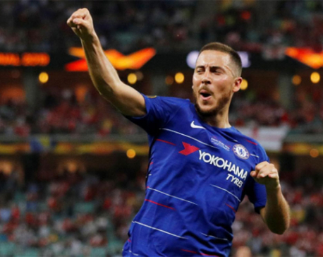 I think it's a goodbye, says Hazard