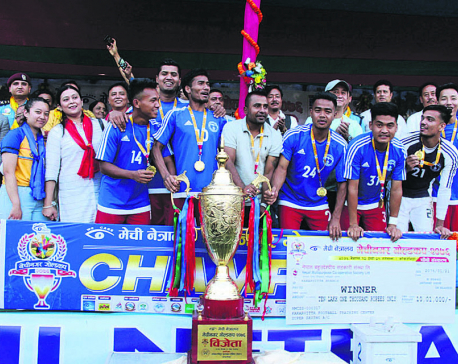 Police defeats Army in sudden death to lift Mechinagar Gold Cup