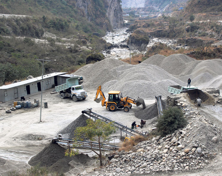 Illegal stone mining causing Chure depletion in Banke