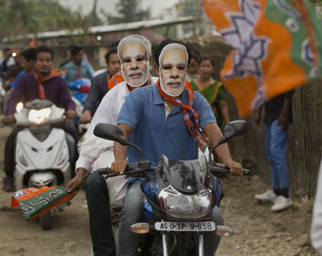 Modi set to win election, exit polls show