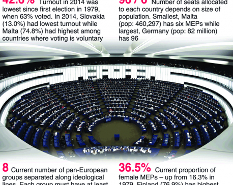 Infographics: European elections by numbers