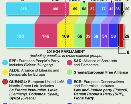 Infographics: European Parliament election results