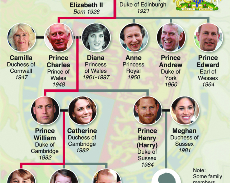 Infographics: Prince Harry and Meghan Markle's royal baby