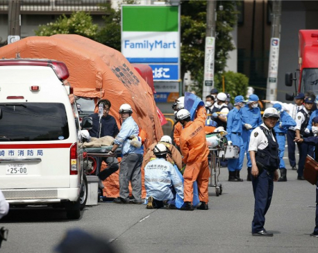 Knife-wielding man attacks schoolgirls in Japan, killing 2