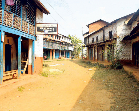 Popular markets in Parbat, Baglung deserted