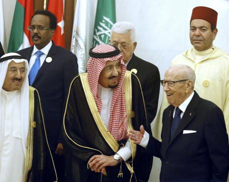 Saudi King Salman urges international effort to thwart Iran