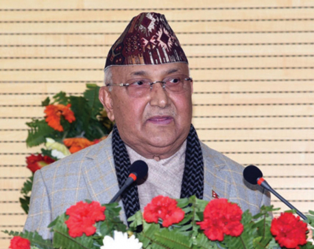 PM Oli calls Modi to congratulate on election victory
