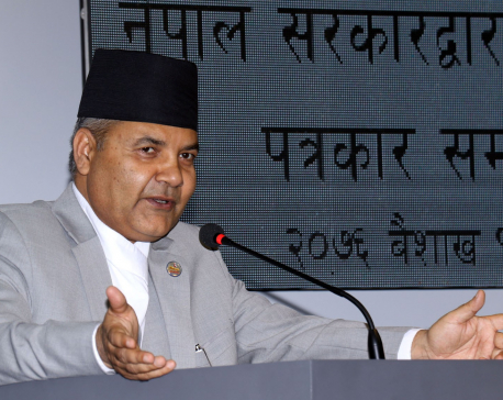 Anyone behind Baluwatar land scam won't be spared: Minister Banskota