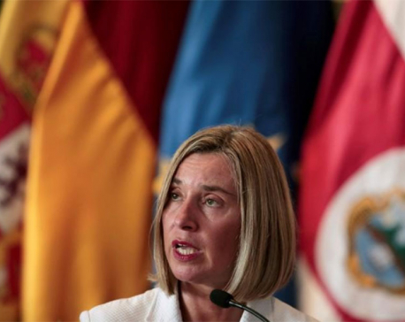 EU supports Iran nuclear deal, wants to avoid escalation - Mogherini