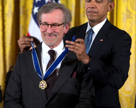 Are Barack Obama, Steven Spielberg collaborating?