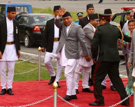 VP Pun returns home