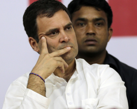 Rahul Gandhi resigns as Congress prez