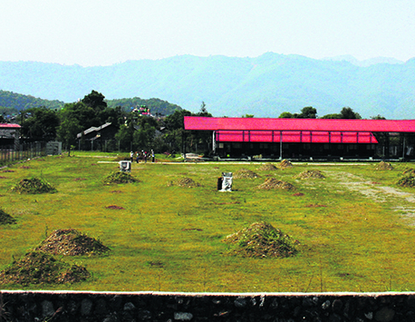 Pokhara Ground ill-prepared for upcoming South Asian Games