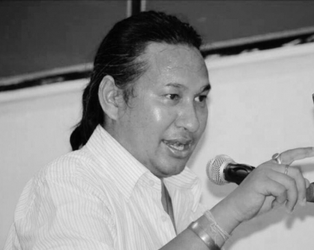 Popular radio program presenter Suraj Shrestha passes away