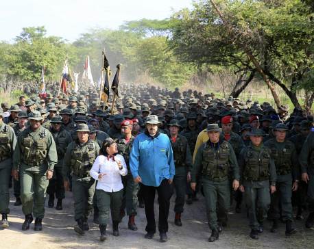 7 Venezuelan military officers killed in chopper crash