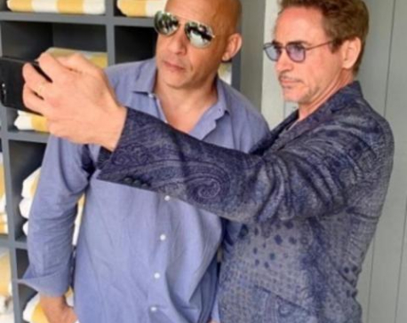 Vin Diesel pens down a heartfelt post for 'Avenger' co-star Robert Downey Jr