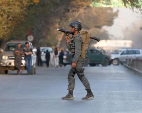 Blast hits Afghan capital Kabul, at least seven casualties