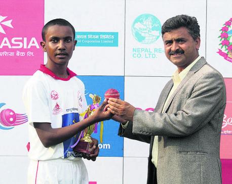Ajay Dev stars in Province 3's dominant win