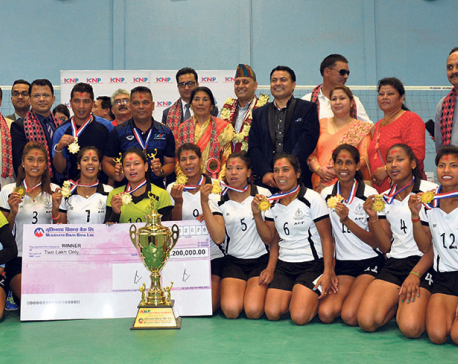 APF downs Army to win KNP National Women Volleyball