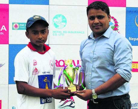 Ayer stars for Sudur Paschim against Karnali
