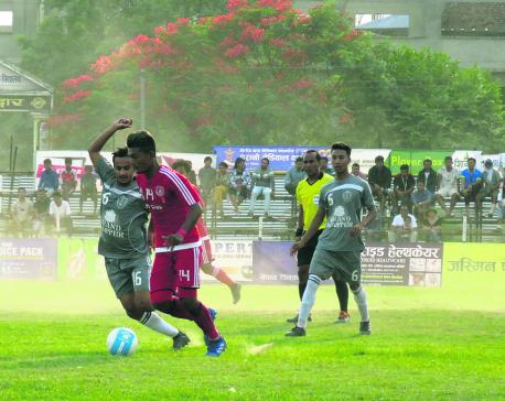 Sankata in Bharatpur semis after tie-breaker win