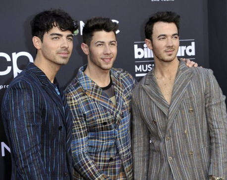 The Jonas Brothers strike deal for memoir called 'Blood'
