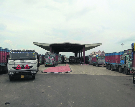 73 fuel tankers held at Indian custom, causing fuel shortage in east Nepal