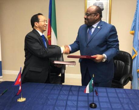 Nepal, Equatorial Guinea establish formal bilateral diplomatic relations